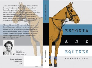 Estonia And Equines front and back covers